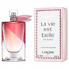 Lancome la vie est belle en rose 100 ml edt для женщин