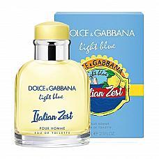 Dolce Gabbana Light Blue Italian Zest men 125 ml
