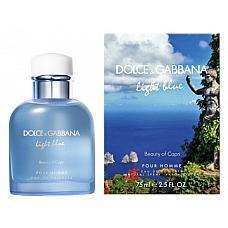 Dolce & Gabbana Light Blue Pour Homme Beauty of Capri