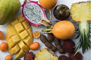 Красивая кожа с помощью тропических фруктов