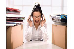 Избежать стресса на работе можно