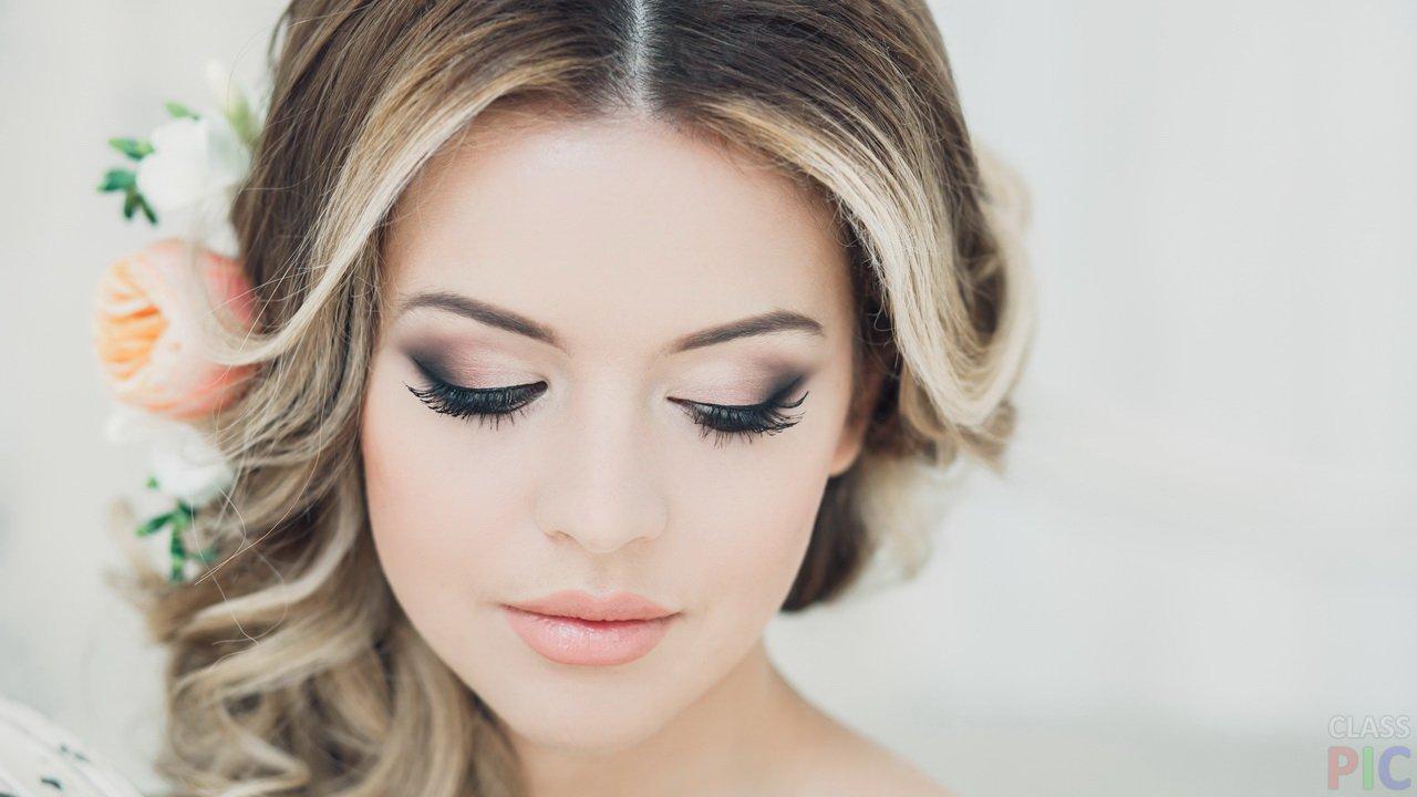 Свадебные прически и макияж: оригинальные идеи
