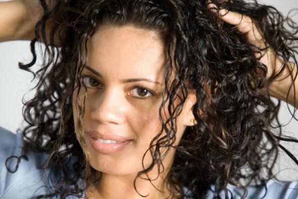 Как сделать эффект мокрых волос?